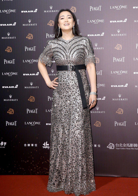鞏俐擔任今年金馬獎的評審團主席 記者鄭清元/攝影