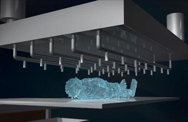 冰葬將屍體放在特殊裝置中進行冷凍乾燥,脫水之後的遺體將在快速震盪後化為粉末。ph...