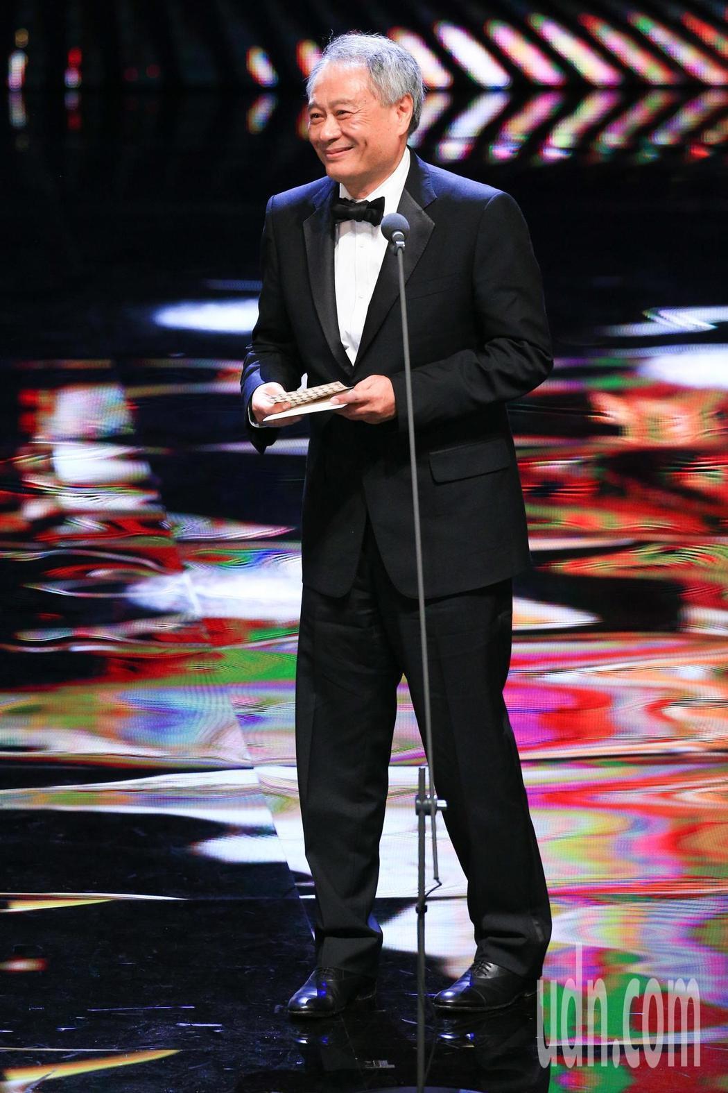 第55屆金馬獎頒獎典禮,頒獎人李安。記者林伯東/攝影