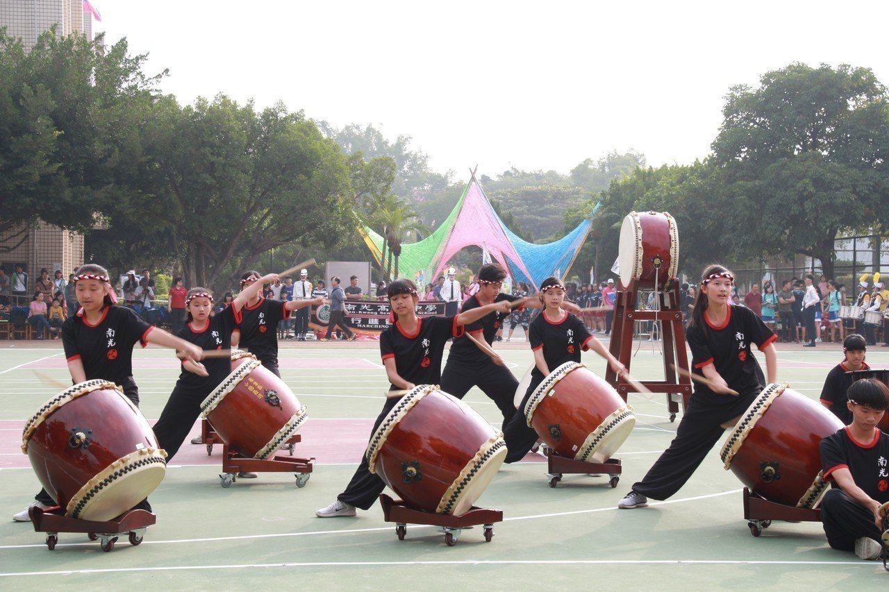 南光高中校慶活動。圖/南光高中提供