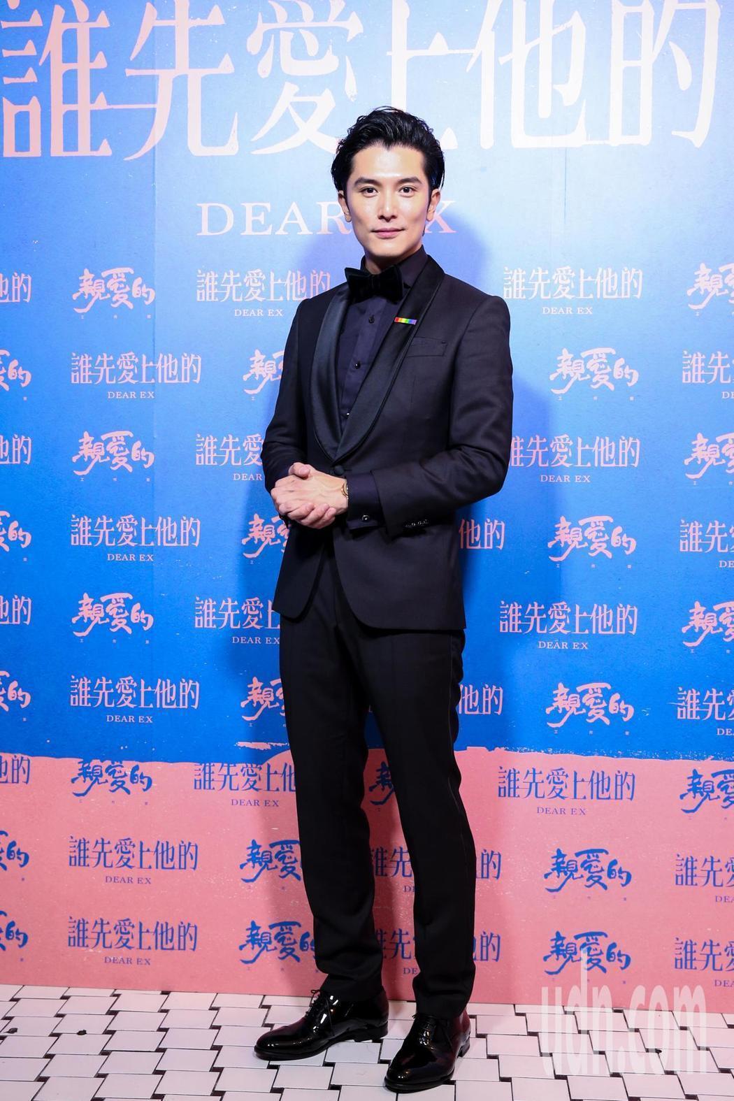 邱澤以「誰先愛上他的」提名金馬獎,可惜最後未能獲獎。記者鄭清元/攝影