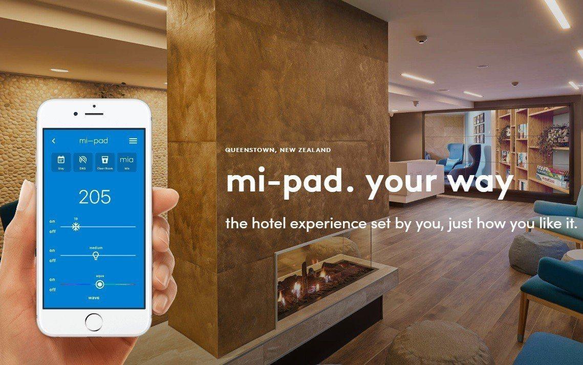 紐西蘭第一家智慧飯店開幕,房客只需下載應用程式,便可把手機當成鑰匙和房內設備遙控...