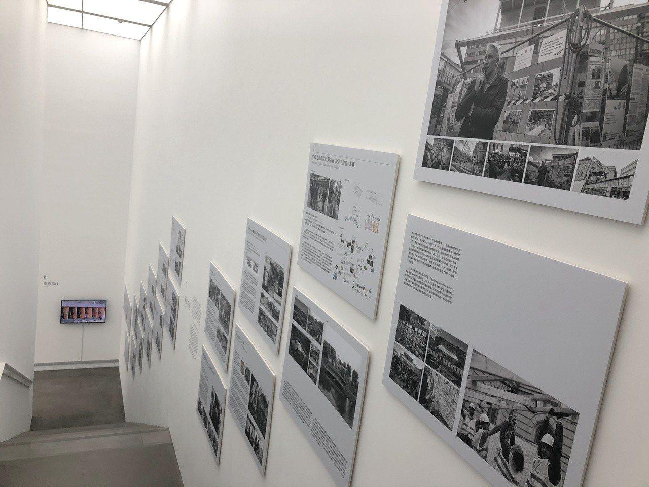 《為無為—謝英俊建築實踐展》。記者何定照/攝影