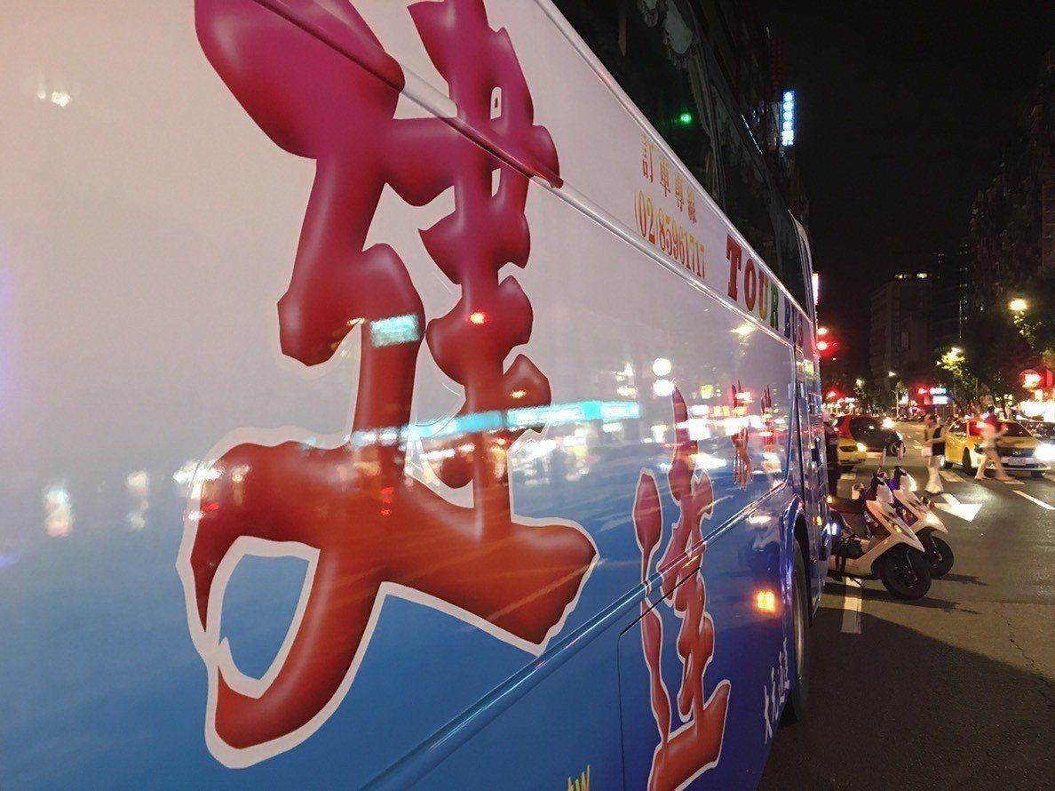 16歲洪姓少女昨晚打工結束被韓團遊覽車輾過身亡。記者李隆揆/攝影