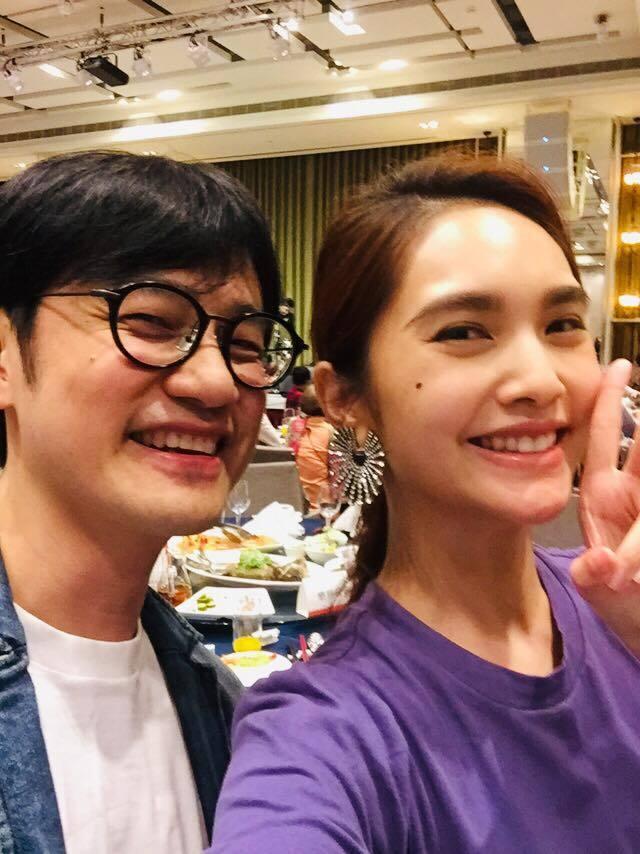 陳建騏(左)曾和楊丞琳合作。圖/摘自臉書