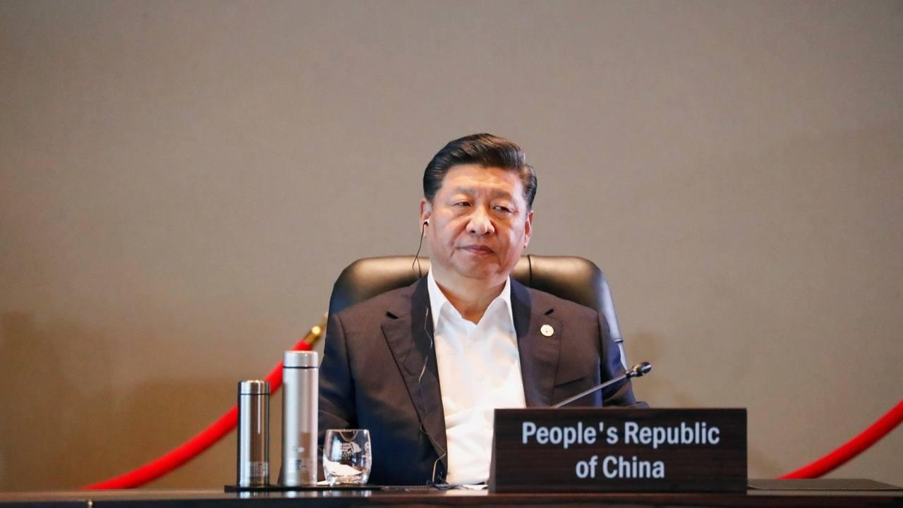 大陸國家主席習近平。香港01新聞