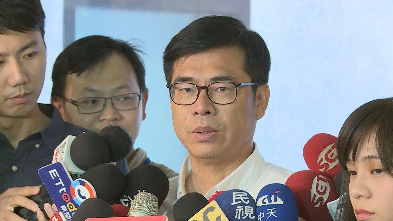民進黨高雄市長候選人陳其邁。聯合報系記者陳聖文/攝影