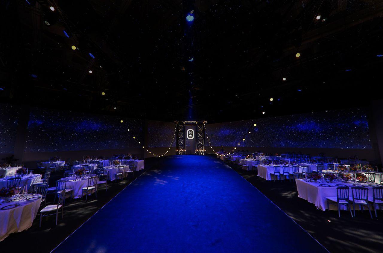 品牌於上海舉辦300人晚宴。圖/海瑞溫斯頓提供