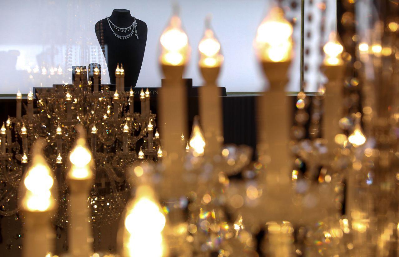 海瑞溫斯頓以紐約總店為設計風格。圖/海瑞溫斯頓提供