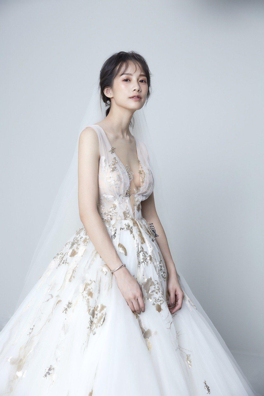 簡嫚書的婚紗照。圖/簡嫚書提供