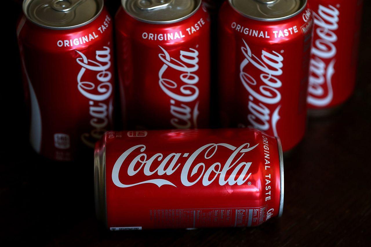 可口可樂將進軍能量飲市場。(圖/法新社)