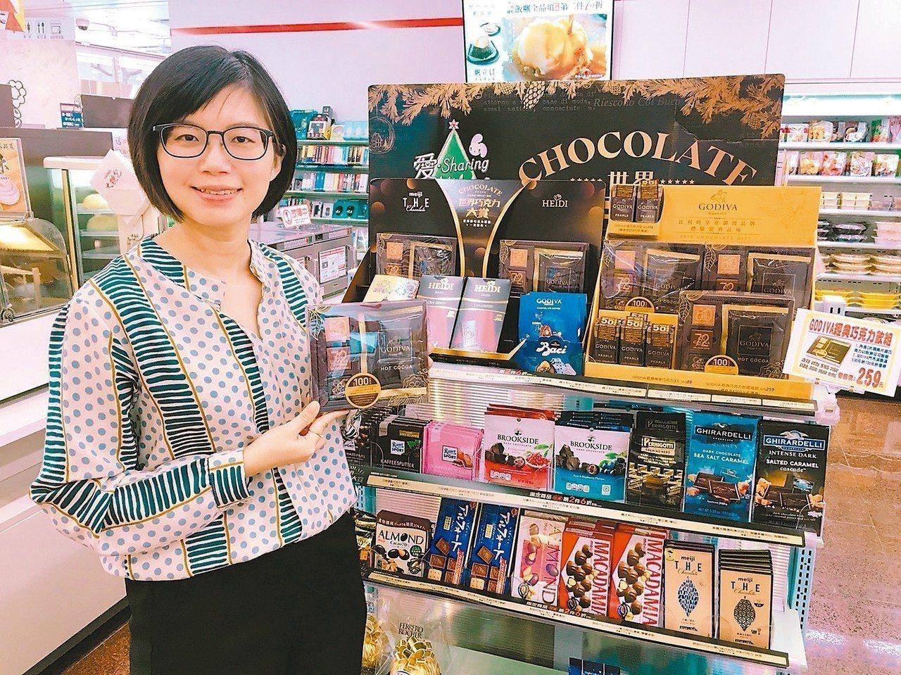 7-ELEVEN門市即日起至12/4推出「愛sharing世界巧克力大賞」,集結...