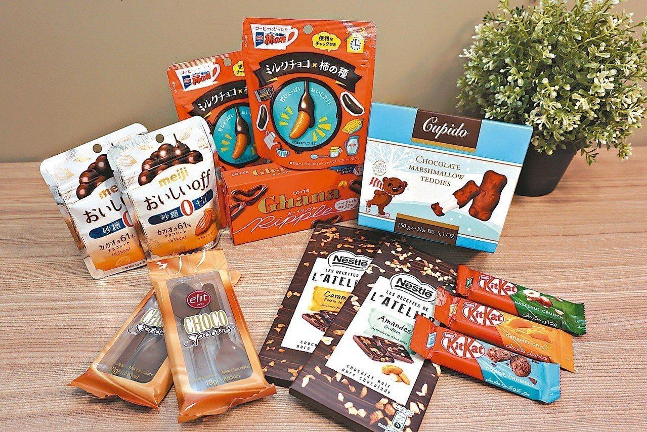 全家便利商店自即日起至12/4於門市推出的巧克力大賞,主打咬開會令人驚喜的通路獨...