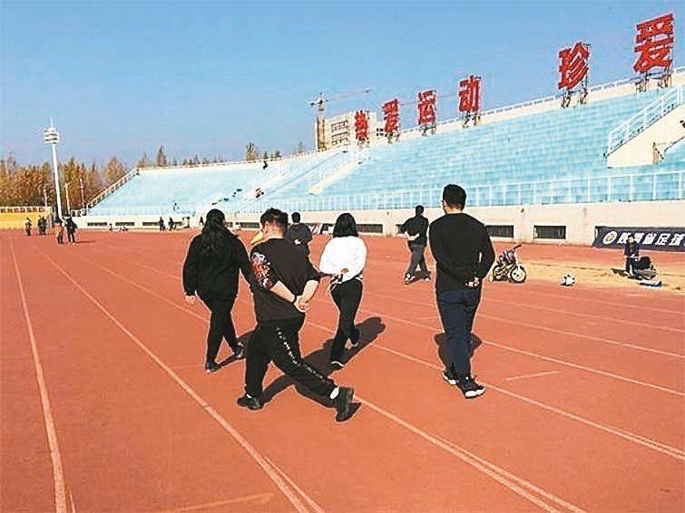 大學裡的「胖胖班」,受學生歡迎。 圖/取自澎湃新聞網