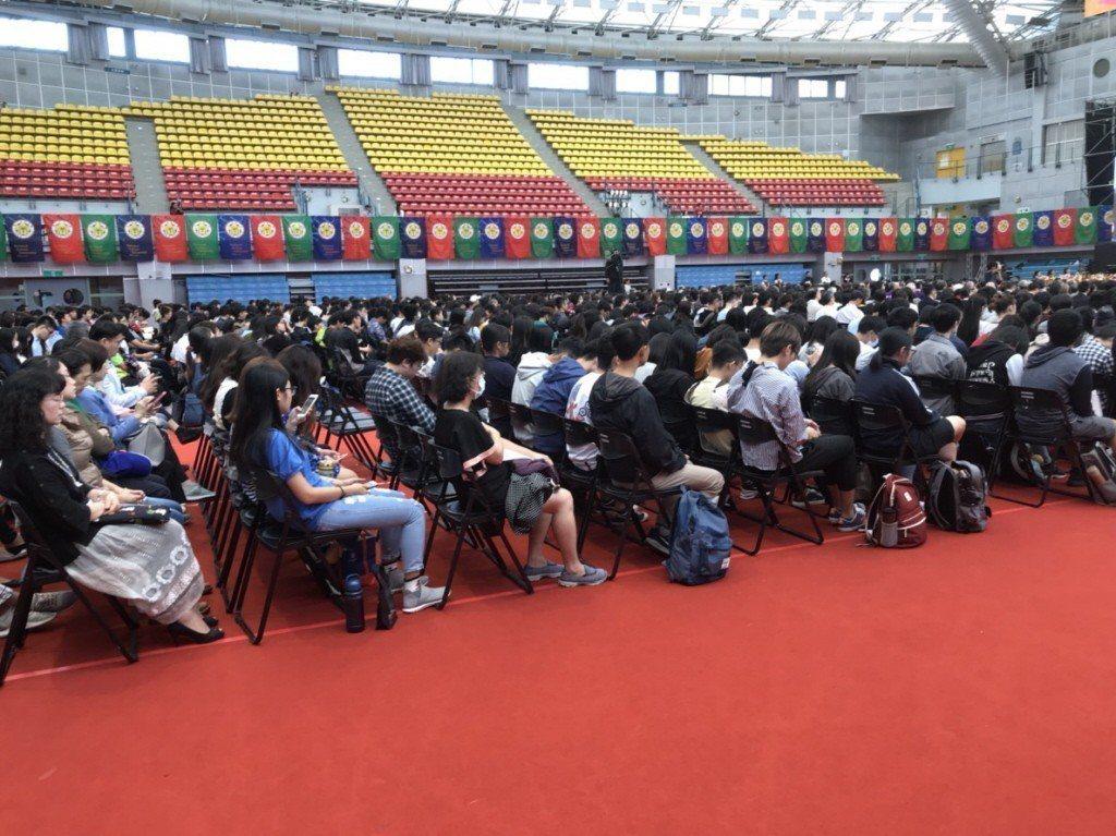 台灣大學今年90歲,15日舉辦校慶活動。 記者馮靖惠/攝影