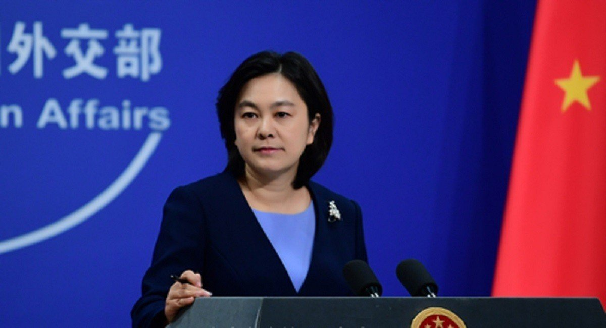 大陸外交部發言人華春瑩。圖/取自中共外交部官網
