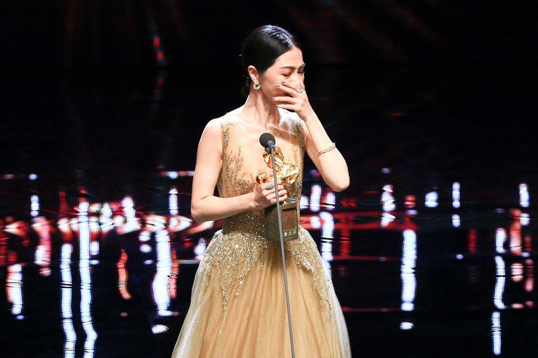 謝盈萱以「誰先愛上他的」奪得最佳女主角。圖/聯合報系資料照
