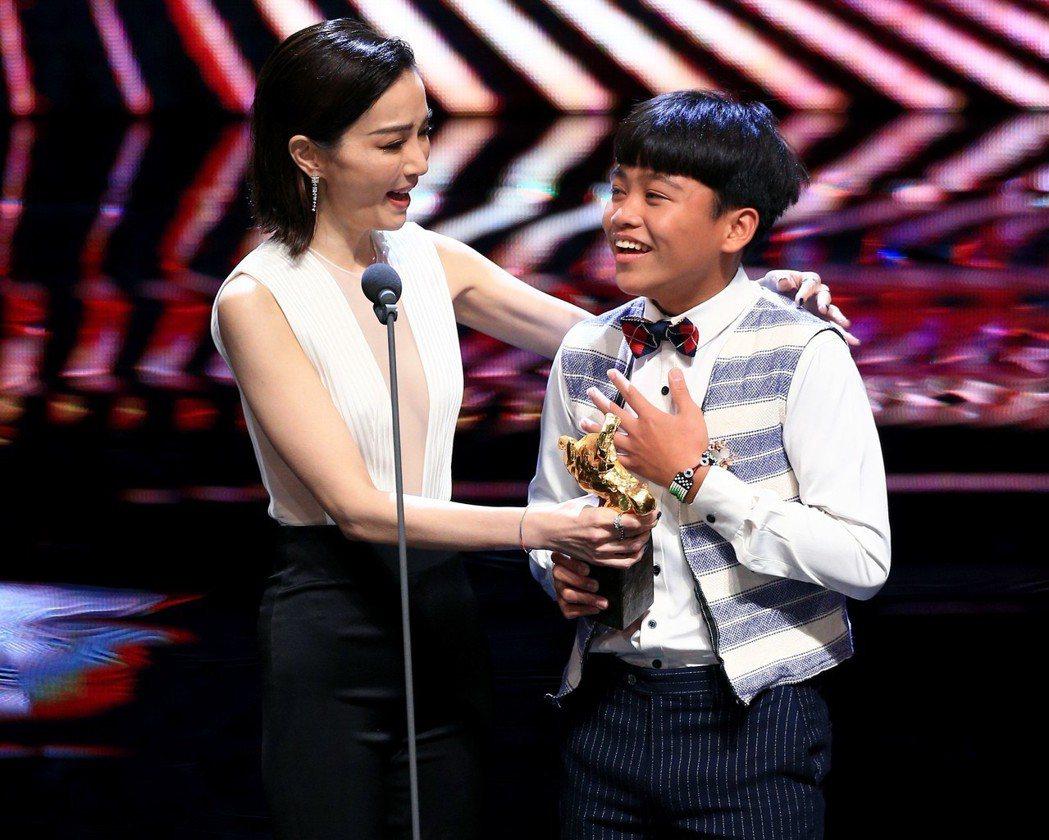 鍾家駿獲「最佳新演員獎。圖/聯合報系資料照