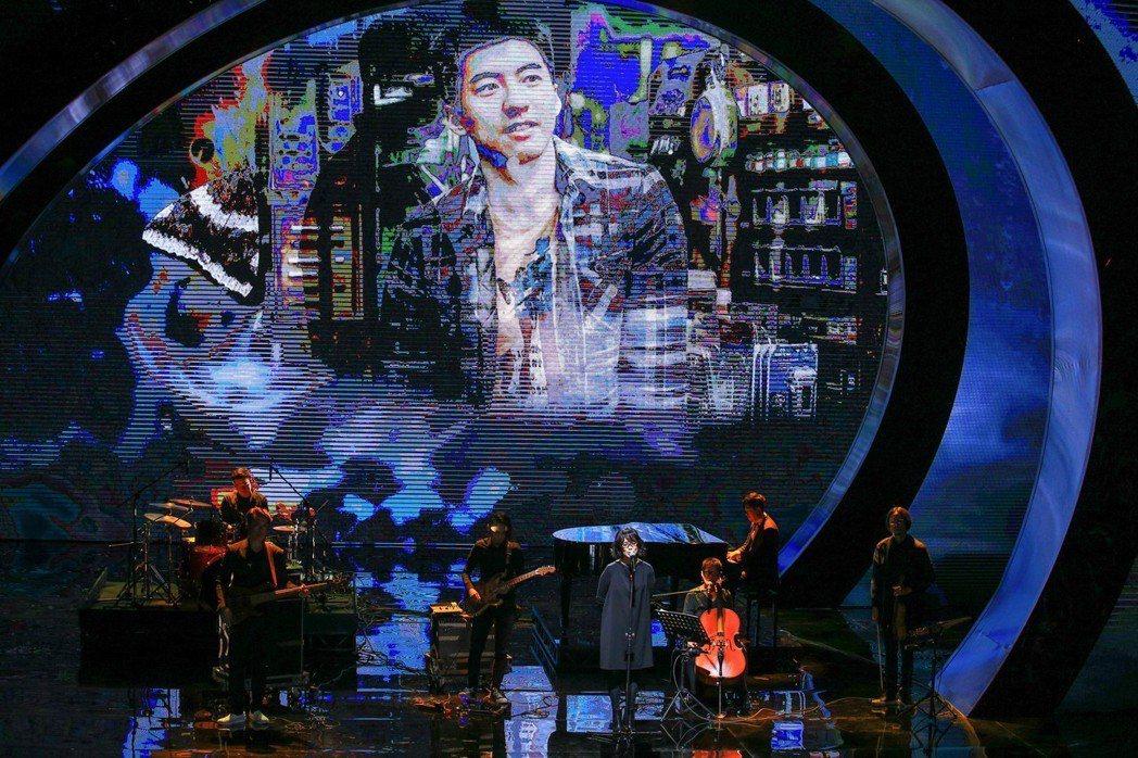 雷光夏演唱電影「范保德」歌曲「深無情」是表演最高收視。圖/聯合報系資料照