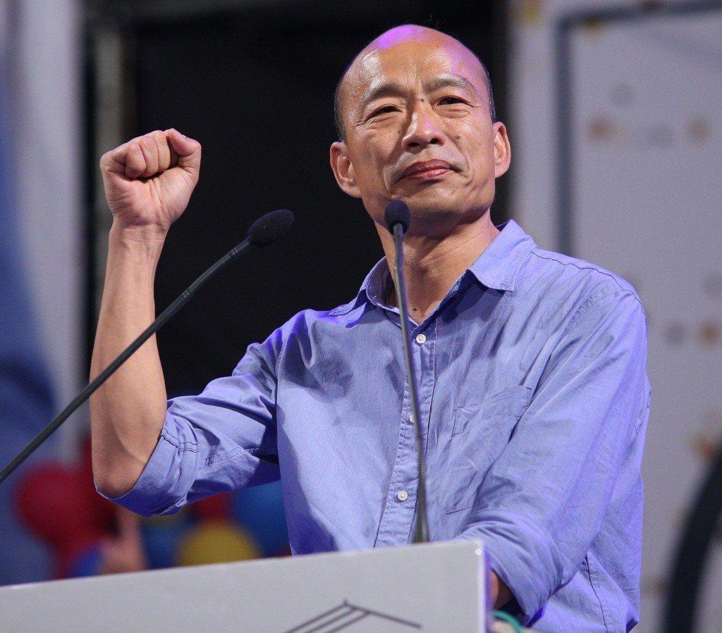 國民黨高雄市長候選人韓國瑜。聯合報系資料照片/記者劉學聖攝影
