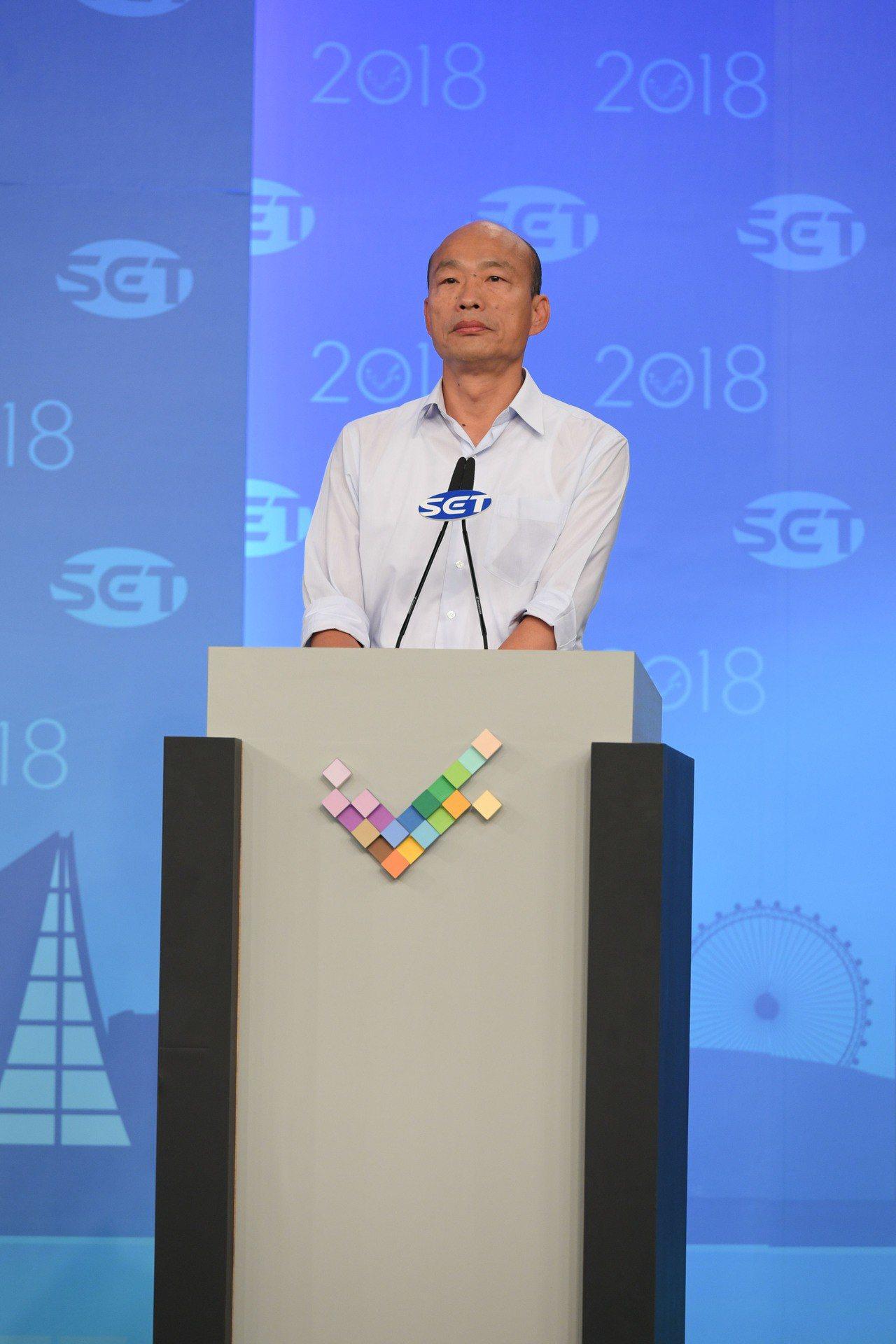 高雄市長候選人韓國瑜。圖/三立提供