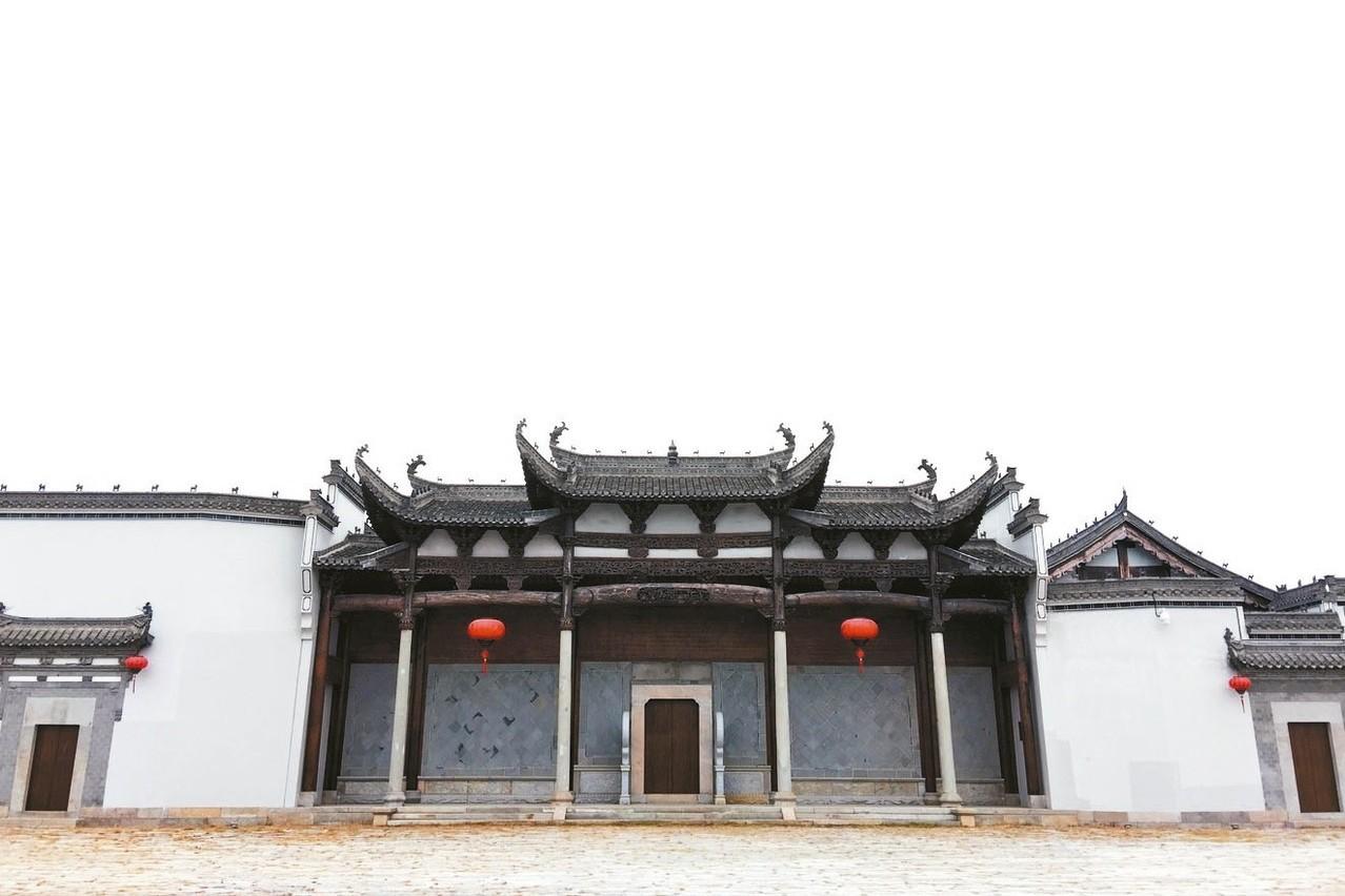 修復好的古民居外觀。