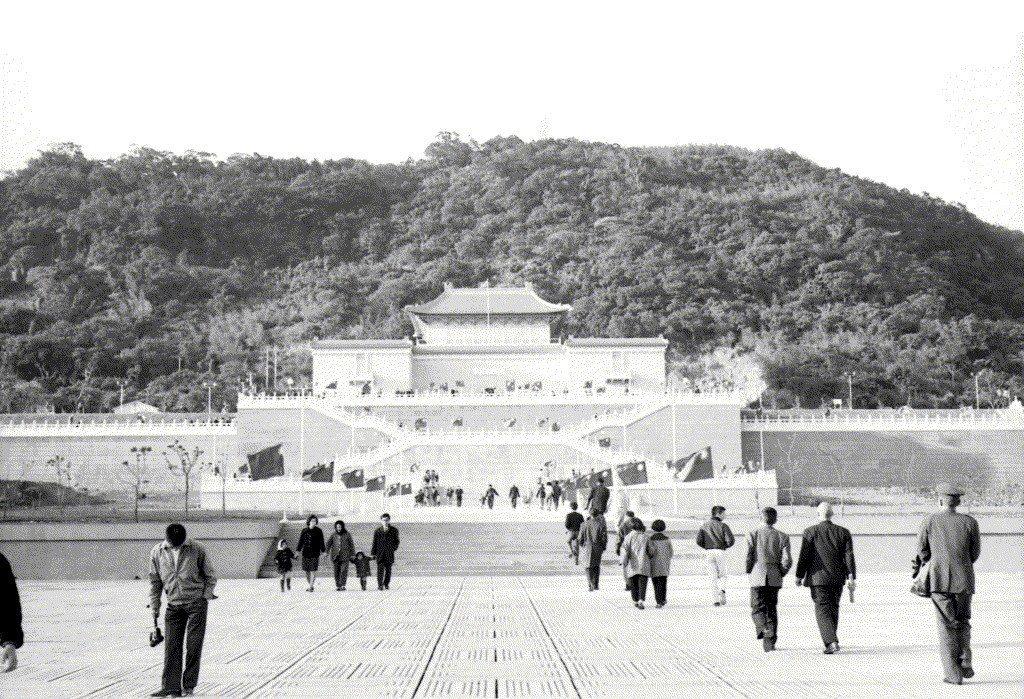 1966年故宮正館一景。 圖/聯合報系資料照
