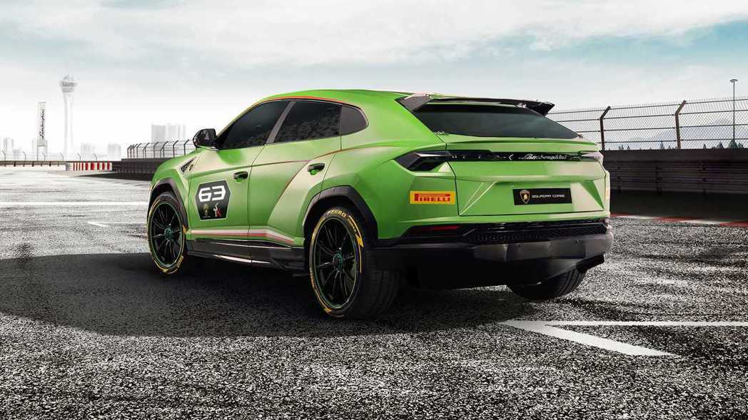 Lamborghini Urus ST-X Concept。 Lamborghini提供