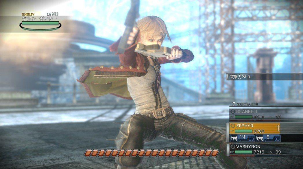 EOE的戰鬥都是用槍來進行的,因此本作才會有「爽快感槍擊戰鬥RPG」的美名,三位...