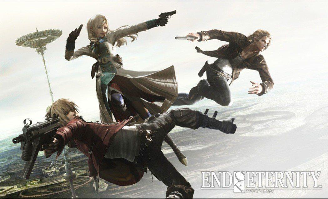 遊戲的三位主角,由左至右分別為:傑法、琳貝爾、瓦修隆。