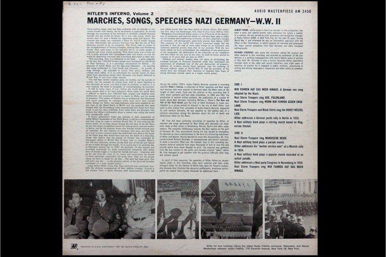1961年美國Audio Fidelity Records唱片公司發行納粹德國軍...