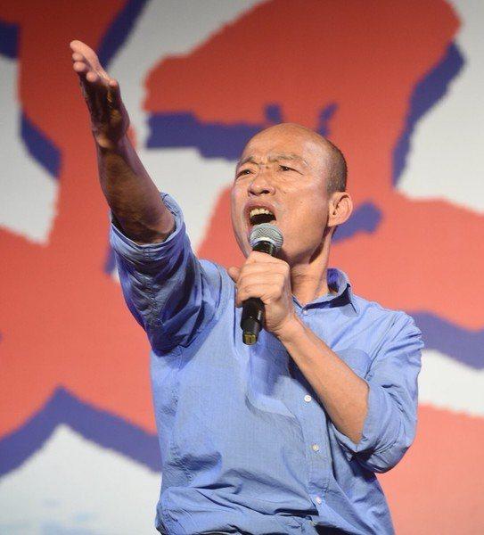澳洲智庫分析,韓國瑜「在贏得台灣年輕人支持上,已經獲得出人意外的成功」。(pho...