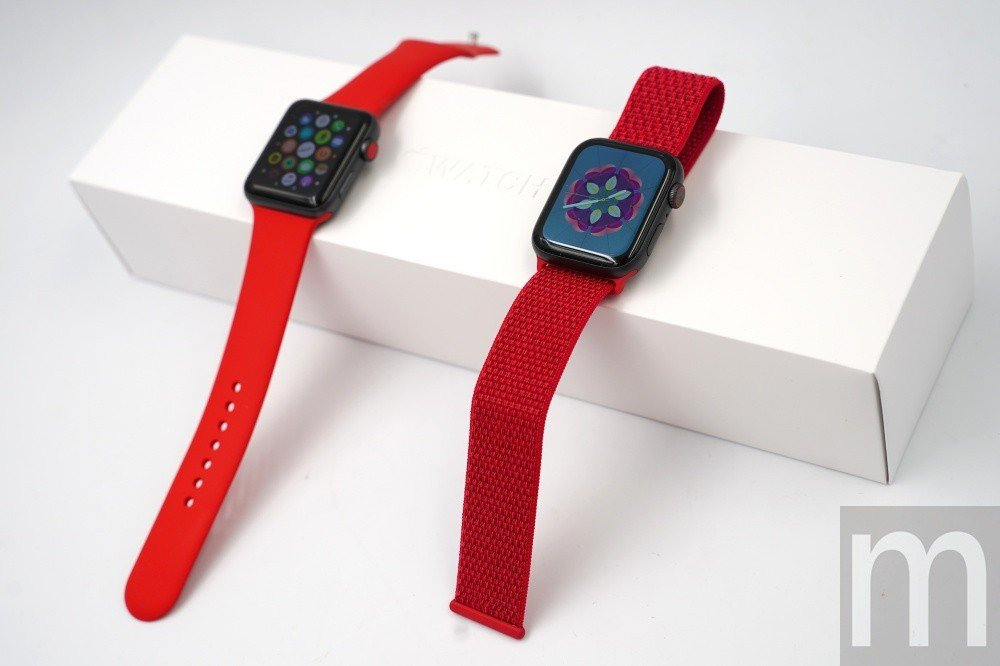 對應(PRODUCT)RED計畫的Apple Watch錶帶