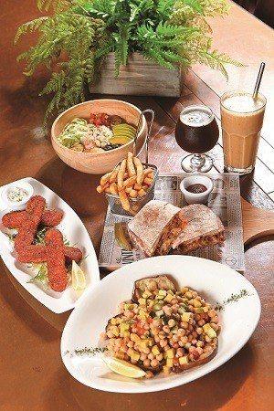 集結多國料理風格,多重口味的蔬食料理,一次滿足。(攝影/李鍾泉)