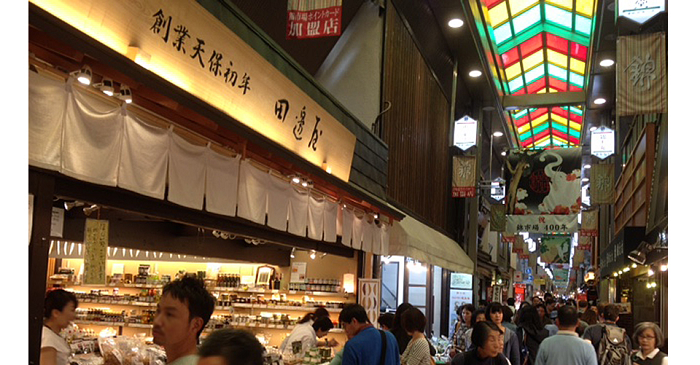 錦市場。 圖/kyototanabeya.com