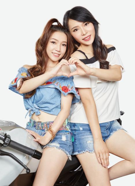 「華南小學妹」是期貨新秀團體,以專業商品服務吸引客戶青睞。(圖片來源:華南期貨)