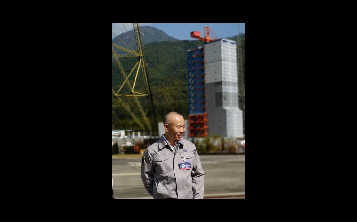 中國衛星導航系統管理辦公室主任冉承其。(特派記者賴錦宏攝)