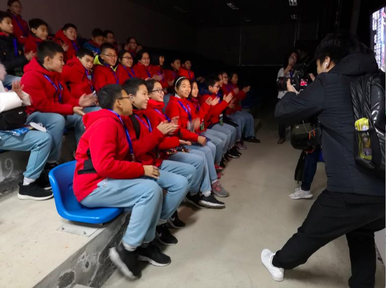 北京小朋友的觀發射旅遊團。特派記者賴錦宏/攝影