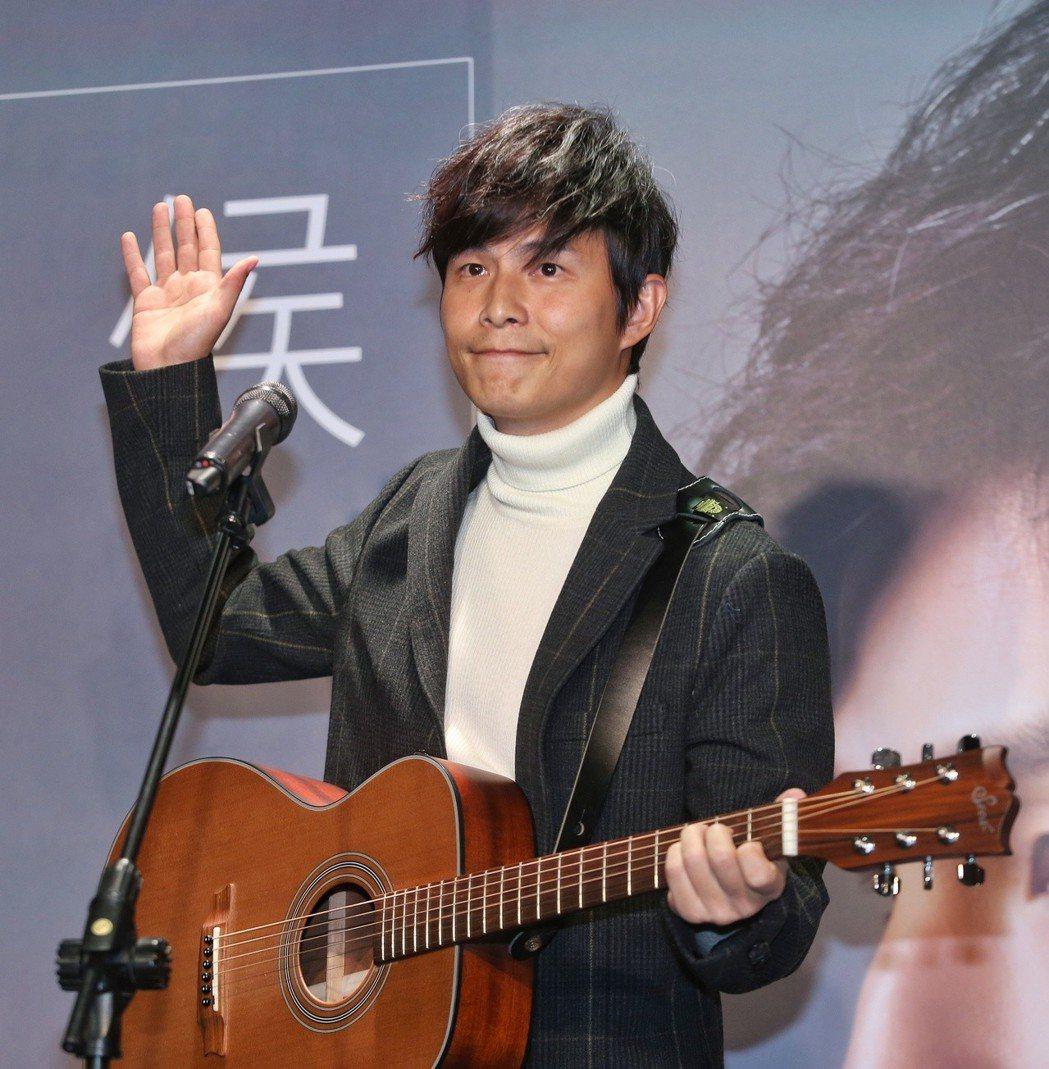 孫協志發新EP。記者鄭清元/攝影