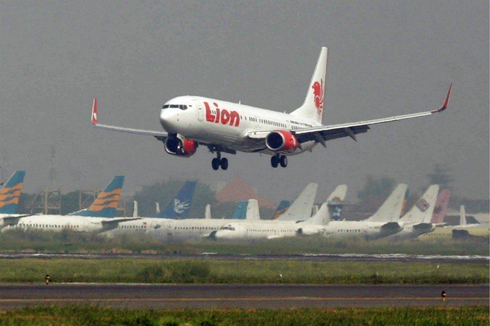 印尼獅子航空公司(Lion Air)示意圖。 美聯社