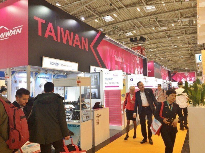貿協帶電子業者籌組台灣館,赴德國慕尼黑參加全球最大電子展。 貿協/提供