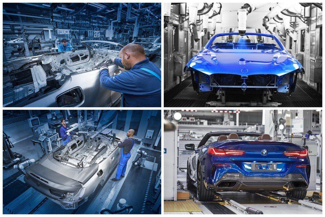 全新BMW 8 Series Convertible與Coupe版本相同,皆在德...
