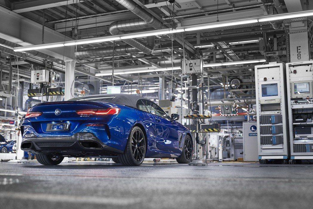 全新BMW 8 Series Convertible將在11月底舉辦的洛杉磯車展...