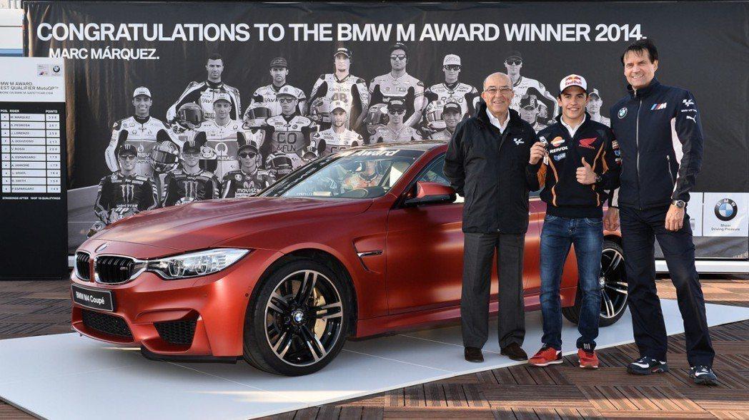 BMW M4 Coupe。 摘自BMW