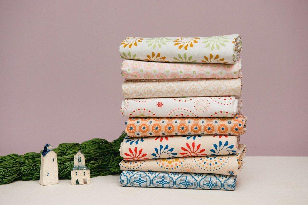 印花樂手印棉帆布料。圖/印花樂提供