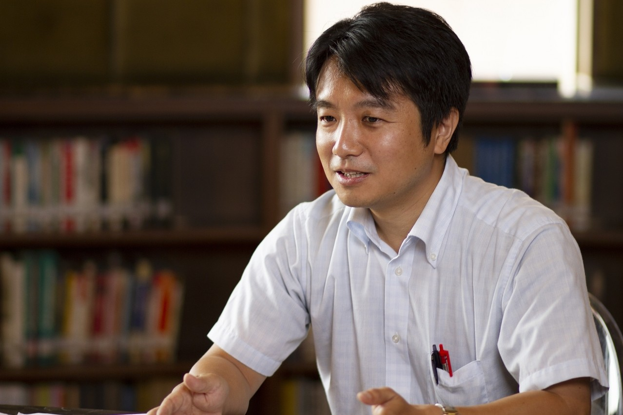 筑波大學臺灣辦事處處長大庭良介副教授。