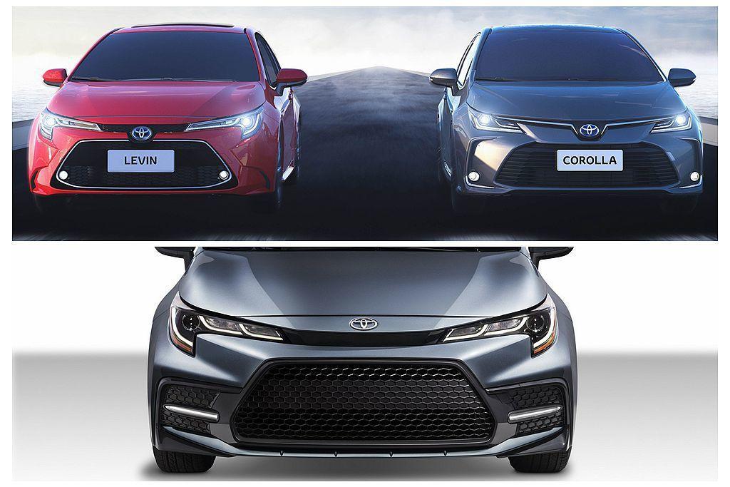 為滿足各市場不同的用車需求,全新第12代Toyota Corolla Sedan...