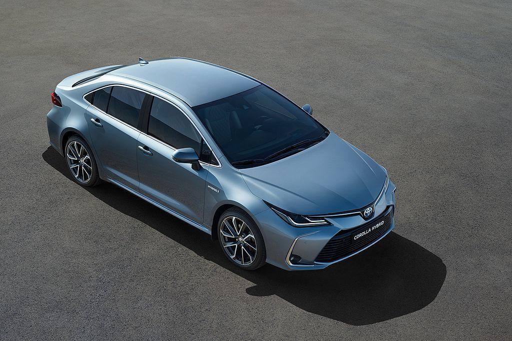 全新第12代Toyota Corolla Sedan。 圖/Toyota提供