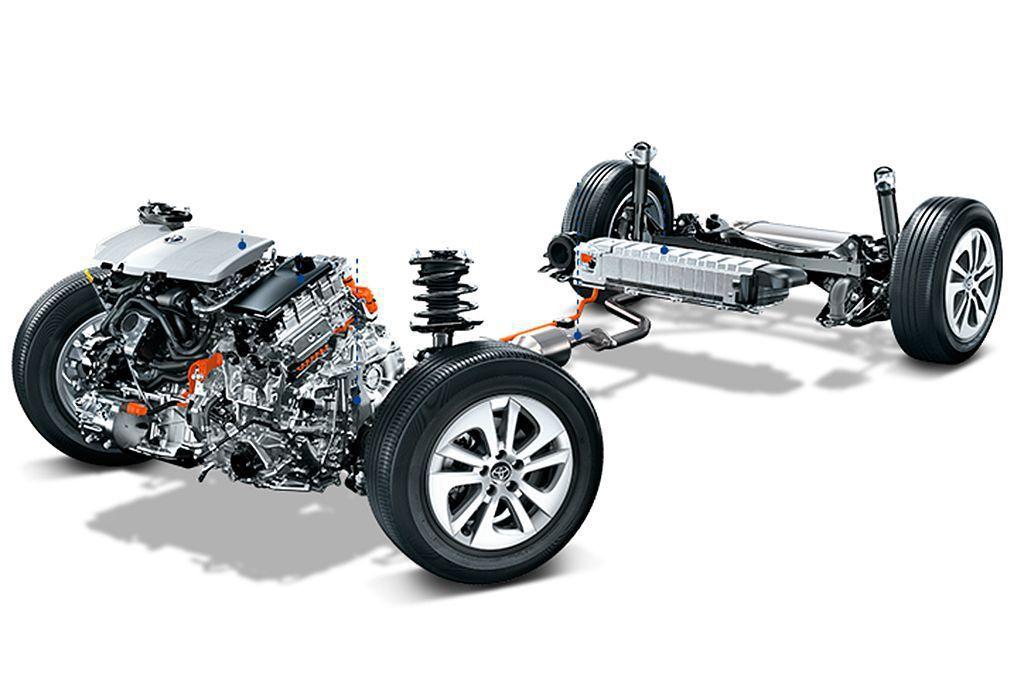 源自第四代Prius的1.8L新世代Hybrid複合動力系統,燃油引擎可輸出97...