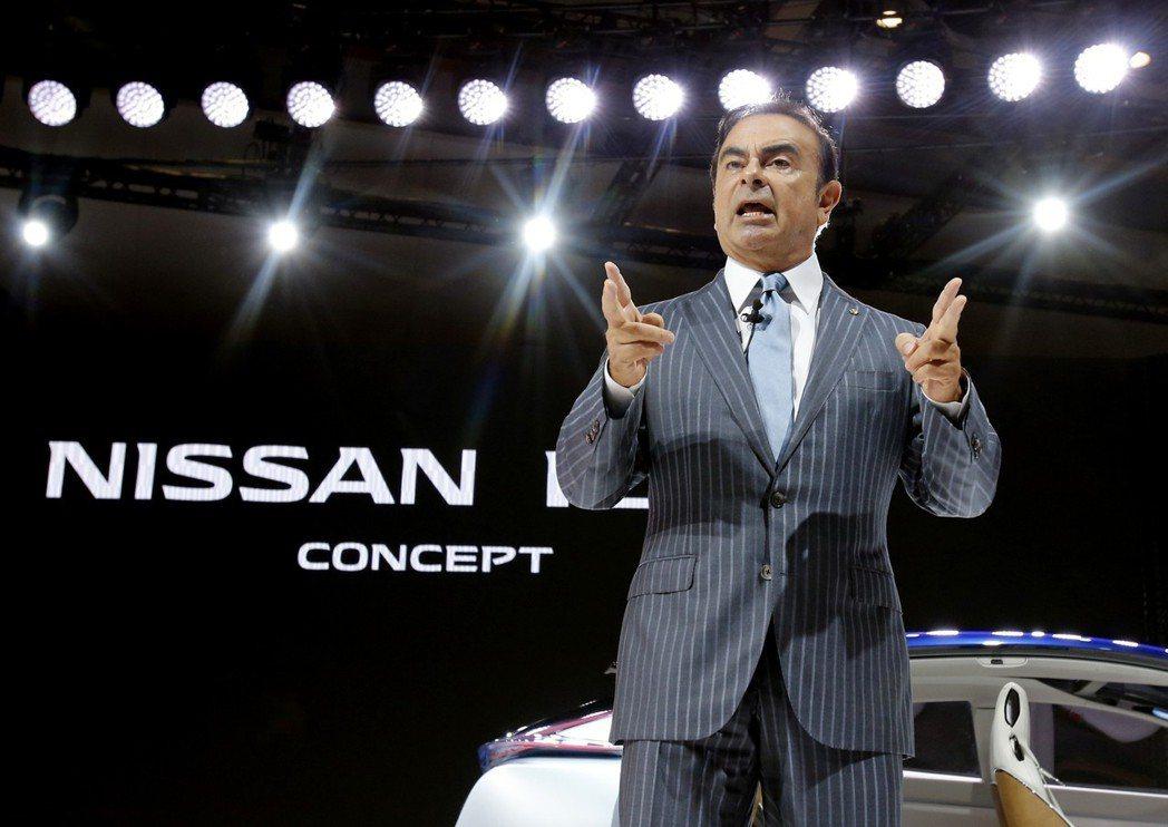 兼任雷諾-日產-三菱聯盟高管的Carlos Ghosn遭逮捕。 美聯社